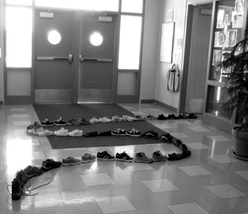 50 Boots Go the The Principal's Office