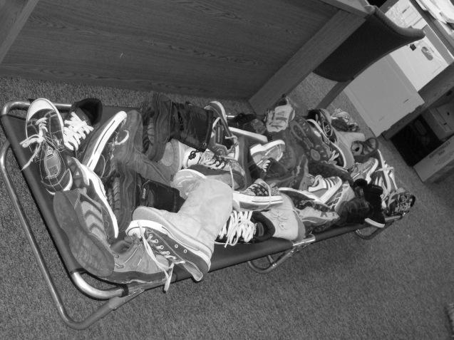 50 Boots Get Sick