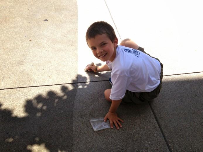 kid shadow draw