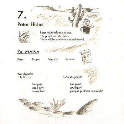 peter hides